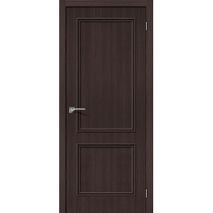 """Дверь межкомнатная """"""""Симпл-12"""" Венге"""