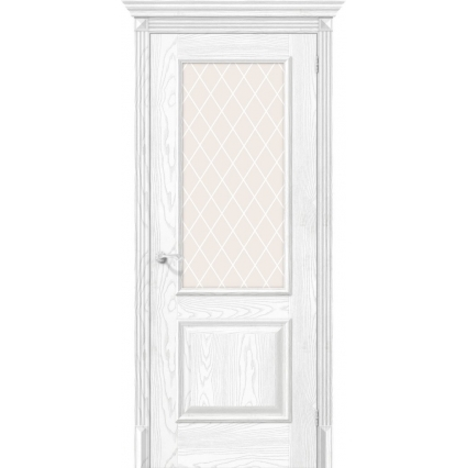 "Дверь межкомнатная ""Классико-12"" Silver Ash"