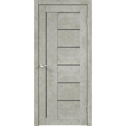 """Дверь межкомнатная """"LOFT 3"""", Бетон светлый"""
