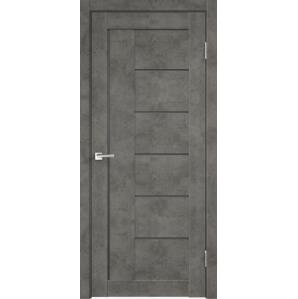 """Дверь межкомнатная """"LOFT 3"""", Бетон темный"""