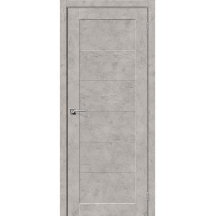 """Дверь межкомнатная """"NEXT 21"""", Бетон светлый"""