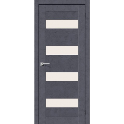 """Дверь межкомнатная """"NEXT 23"""", Бетон темный"""