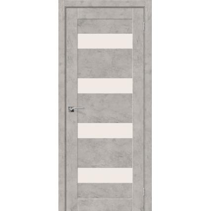 """Дверь межкомнатная """"NEXT 23"""", Бетон светлый"""