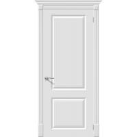 Дверь межкомнатная Эмаль 12 ПГ Белый (Скинни)