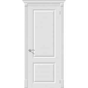 "Дверь межкомнатная ""Эмаль 12"" Белый"