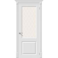 Дверь межкомнатная Эмаль 13 ПО Белый (Скинни)