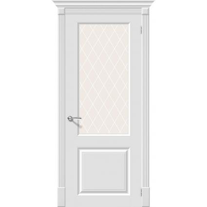 """Дверь межкомнатная """"Skinny 12"""" Белый"""