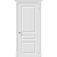 Дверь межкомнатная Эмаль 14 ПГ Белый (Скинни)