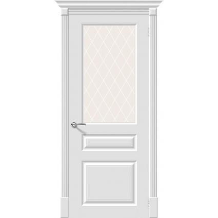 "Дверь межкомнатная ""Эмаль 14"" Белый"