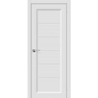 Дверь межкомнатная Скинни 51 Белый/ Бел. вставка