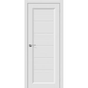 """Дверь межкомнатная """"Эмаль 51"""" Белый/ Бел. вставка"""