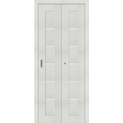 "Складная дверь-книга ""Амати 01"" Эшвайт"
