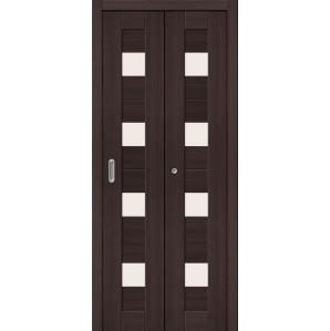 """Складная дверь-книга """"Амати 03"""" Венге"""