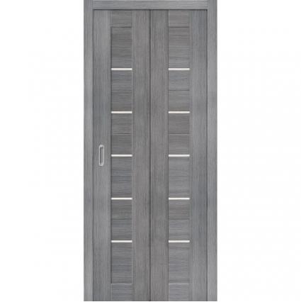 """Складная дверь-книга """"Порта 22"""" Венге"""