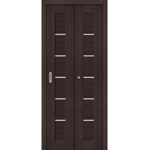 """Складная дверь-книга """"Амати 01"""" Венге"""