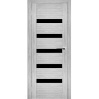 """Дверь межкомнатная """"Амати 03"""" Сканди (Черное стекло)"""