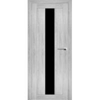 """Дверь межкомнатная """"Амати 05"""" Сканди (Черное стекло)"""