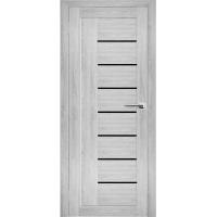 """Дверь межкомнатная """"Амати 07"""" Сканди (Черное стекло)"""