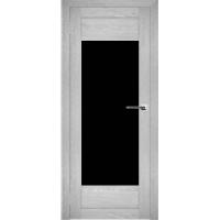 """Дверь межкомнатная """"Амати 14"""" Сканди (Черное стекло)"""