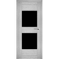 """Дверь межкомнатная """"Амати 15"""" Сканди (Черное стекло)"""