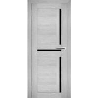 """Дверь межкомнатная """"Амати 18"""" Сканди (Черное стекло)"""