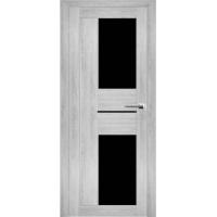 """Дверь межкомнатная """"Амати 22"""" Сканди (Черное стекло)"""