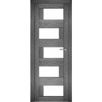 "Дверь межкомнатная ""Амати 23"" Дуб шале графит"