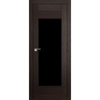 """Дверь межкомнатная """"Амати 14"""" Венге (Черное стекло)"""