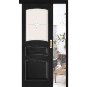 """Дверь межкомнатная """"М16"""" ПО Венге"""
