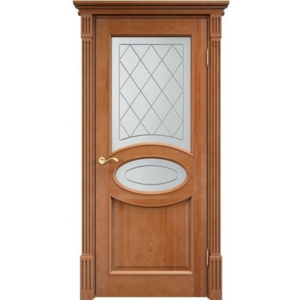 """Дверь межкомнатная """"М26"""" ПО Орех 10%"""