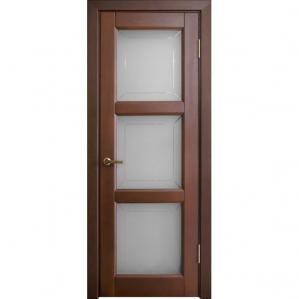 """Дверь межкомнатная """"М17"""" ПО Орех 15%"""