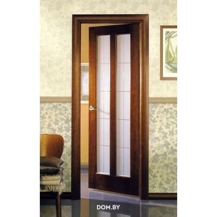 """Дверь межкомнатная """"М2"""" ПО Орех 15%"""