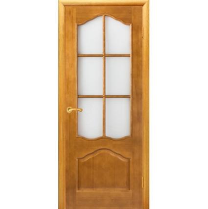 """Дверь межкомнатная """"М1"""" ПО Орех 10%"""