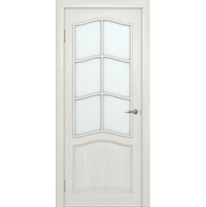 """Дверь межкомнатная """"М7"""" ПО Белый воск"""