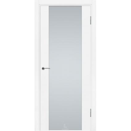 """Дверь межкомнатная """"Виктория 1"""" Белый Муар"""