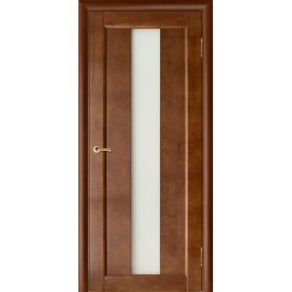 """Дверь межкомнатная """"Вега-18"""" Темный Орех"""
