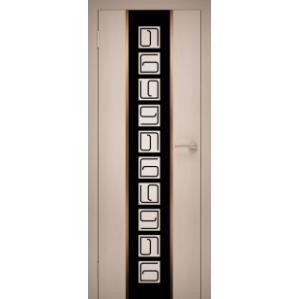 """Дверь межкомнатная """"GOLD 11"""" Дуб Беленый"""