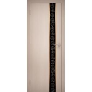 """Дверь межкомнатная """"GOLD 08"""" Дуб Беленый"""