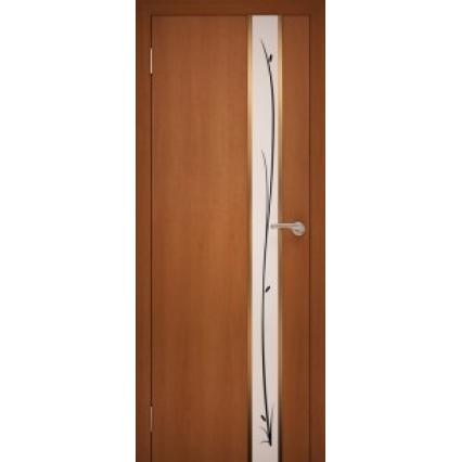 """Дверь межкомнатная """"GOLD 10"""" Орех Итальянский"""