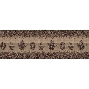 Фартук АБС 3000х600х1,5мм/ Кофейные зерна, Глянец