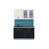 Кухня КРАФТ 1,4А (Дуб Английский/ Дуб Полярный)