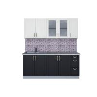 Кухня КРАФТ 1,9А (Дуб Английский/ Дуб Полярный)