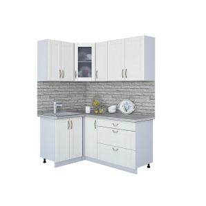 Кухня КРАФТ 1,2х1,7 (Дуб Полярный)