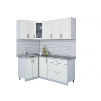 Кухня КРАФТ 1,2х1,8 (Дуб Полярный)