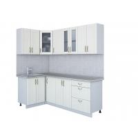 Кухня КРАФТ 1,2х2,2 (Дуб Полярный)