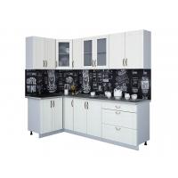 Кухня КРАФТ 1,2х2,5 (Дуб Полярный)