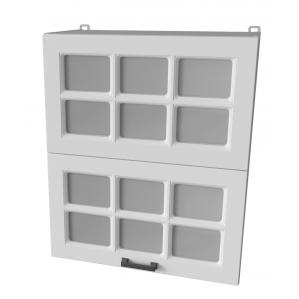 Шкаф верхний ВШ60-720-2дг(2ст) Hermes