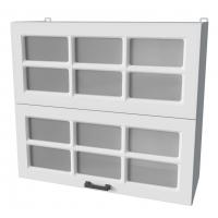 Шкаф верхний ВШ80-720-2дг(2ст) Hermes