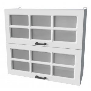 Шкаф верхний ВШС80-720-2дг(2ст)