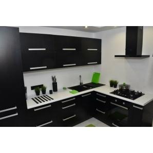 4. Кухня ПЛАСТИК Черный